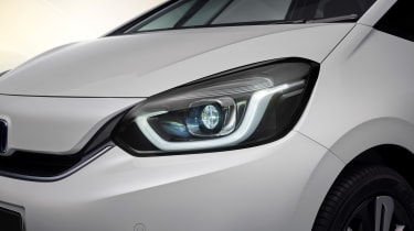2020 Honda Jazz hybrid - front close view