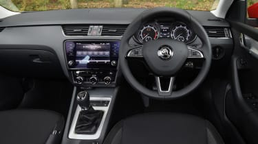 2017 Skoda Octavia Estate - interior