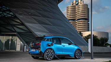 If you want the world to know you're 'driving the future', the i3 is the car to go for