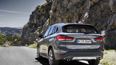 2019 BMW X1 SUV - rear 3/4 wide angle