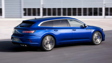2020 Volkswagen Arteon R Shooting Brake estate - rear 3/4 dynamic
