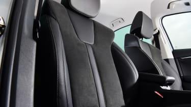 Skoda Octavia hatchback front seats