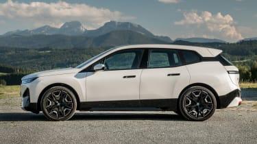 BMW iX SUV side static