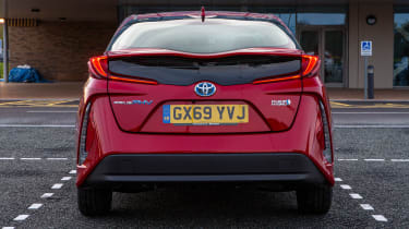 Toyota Prius Plug-in Hybrid hatchback rear static