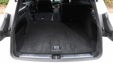 Mercedes EQC SUV boot