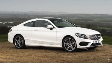 In the regular line-up, the 2.0-litre C200 and C300 petrols have 181 and 241bhp