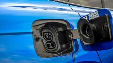 Skoda Enyaq iV SUV - charging port