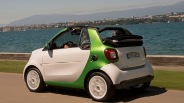 It's certainly niche, but rivals like the Renault Twizy and ZOE, Volkswagen e-up! and BMW i3 are great in the city too