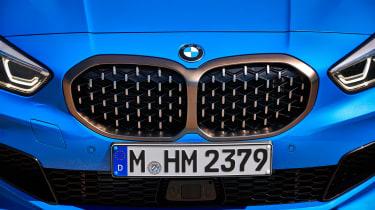 BMW M135i grille
