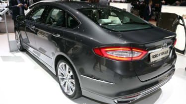 The Mondeo already cuts a dash in the metal, and the Vignale version looks even sleeker