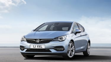 2019 Vauxhall Astra hatchback - front 3/4 static