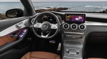 2019 Mercedes GLC SUV - interior angle