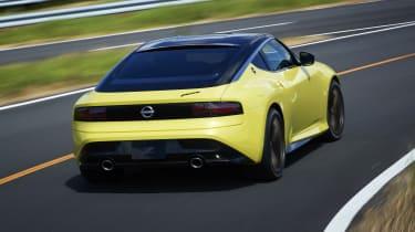 Nissan Z Proto - rear 3/4 dynamic