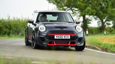 MINI JCW GP - front 3/4 dynamic