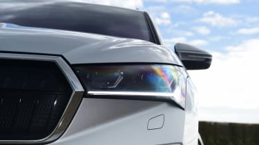 Skoda Enyaq iV SUV headlights