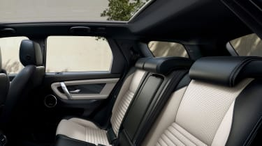 Facelifted Land Rover Discovery Sport - rear seats