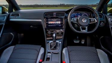 Volkswagen Golf hatchback dashboard