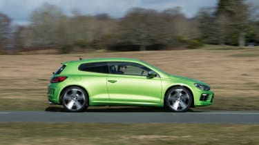 Its 2.0-litre turbocharged petrol engine sends 276bhp to the front wheels through a manual or DSG automatic gearbox