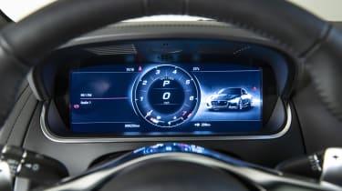 2020 Jaguar F-Type digital instrument cluster