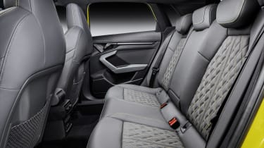 2020 Audi S3 rear seats