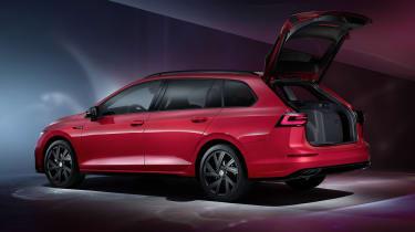 2020 Volkswagen Golf Estate R-Line rear - boot open