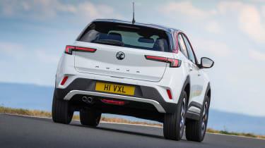 2021 Vauxhall Mokka SRi - rear 3/4 dynamic passing