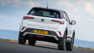2021 Vauxhall Mokka SRi - rear 3/4 dynamic passing