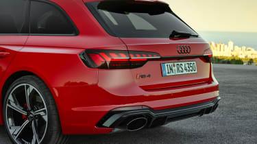 Audi RS4 Avant rear end