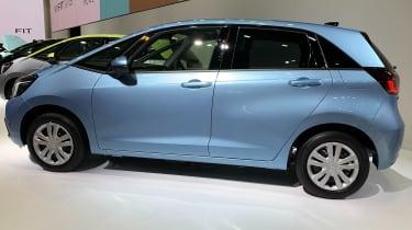 Honda Jazz hybrid side view
