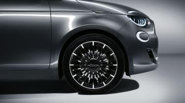 2020 Fiat 500 electric convertible - front quarter close