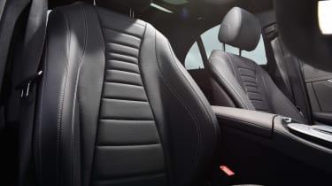 Mercedes E-Class hybrid front seats