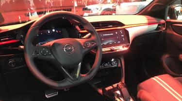 2020 Vauxhall Corsa-e - interior view at the Frankfurt Motor Show