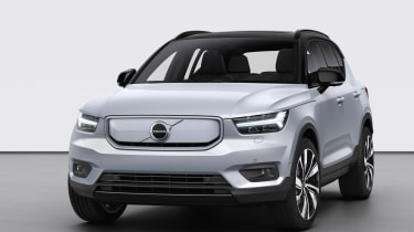 Volvo XC40 Recharge nose