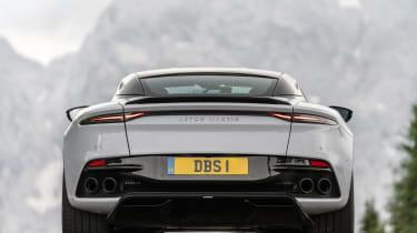 Aston Martin DBS Superleggera rear