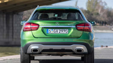 The most popular versions are the GLA 200d and 220d, fitted with a 2.1-litre diesel engine
