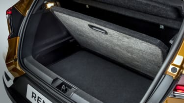 2020 Renault Captur - boot under floor storage