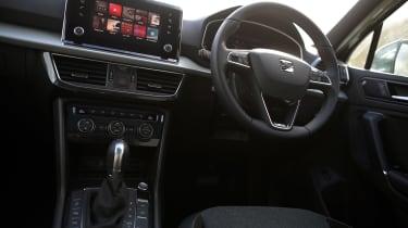 SEAT Tarraco SUV centre console