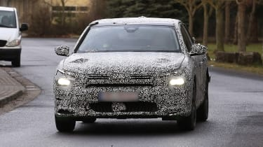 New Citroen crossover prototype - front end