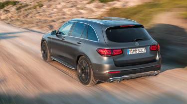 2019 Mercedes GLC SUV - driving rear