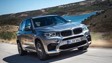 Fuel consumption of just 25mpg and a 37% Benefit-in-Kind rating make the X5 M expensive to run