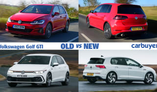 Volkswagen Golf GTI old vs new header
