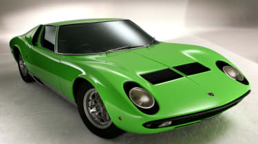 The Lamborghini Miura is considered by many to be one of the most beautiful cars ever built