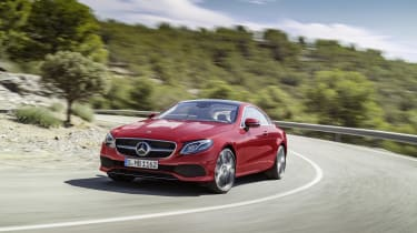 All E-Class Coupes get a 'Dynamic Select' feature, which allows the driver to choose from three modes