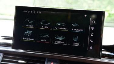 Audi S5 Sportback menus