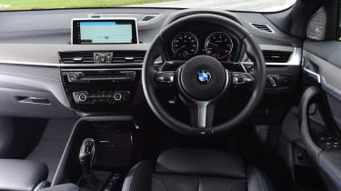BMW X2 SUV interior