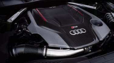 2020 Audi RS5 Coupe - engine bay