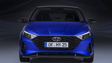 New Hyundai i20 leaked - front end