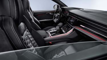 Audi RS Q8 interior - side view