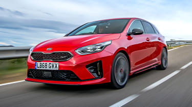 kia ceed gt front tracking