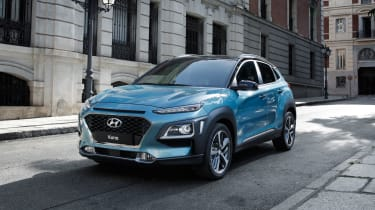 The Hyundai Kona will be a rival for the Nissan Juke